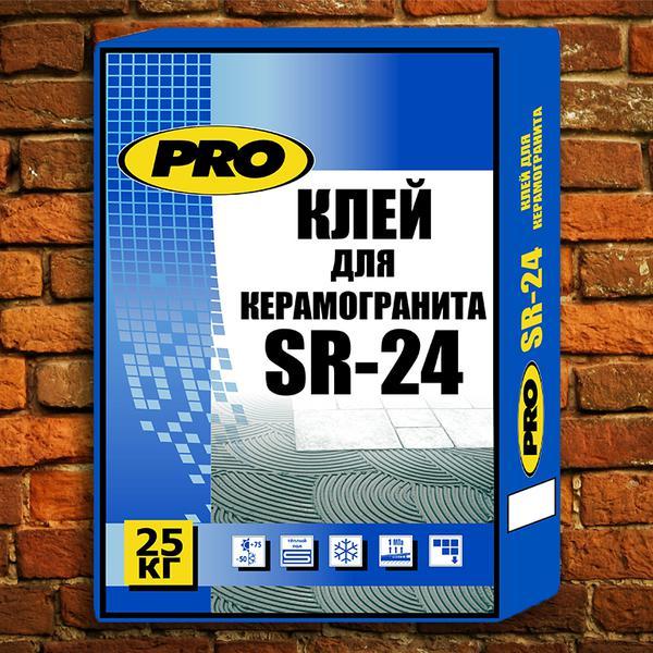SR-24 Клей для керамогранита, 25 кг