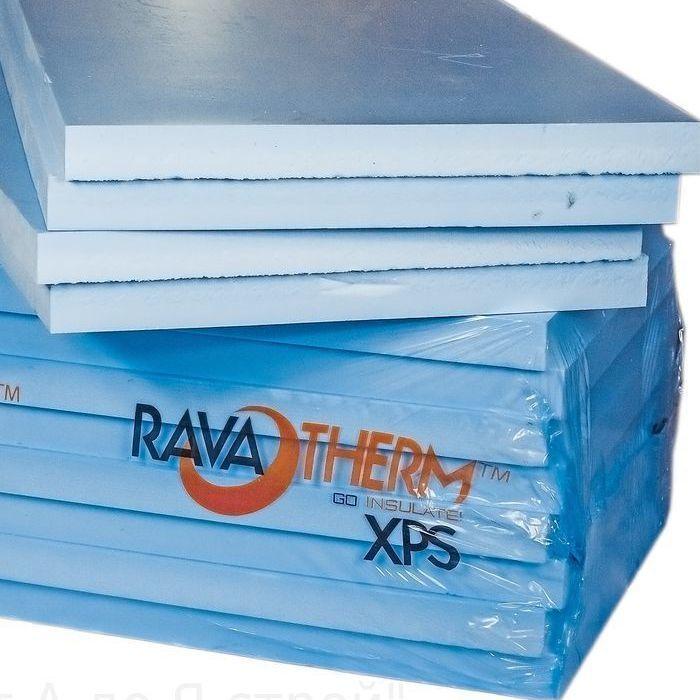 Пенопласт экструдированный 'Ravaterm' XPS STANDART 1185*585*30 мм