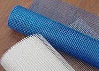 Сетка фасадная 5мм*5мм(1м*50м+10-10%) 160 г/м.кв. синяя м2