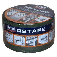Лента битумная для кровли TYTAN Professional RS TAPE 10см х10м алюм.