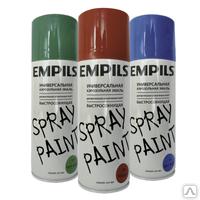 Краска аэрозольная Empils для вн. и нар. работ черная 425мл(1211-2)