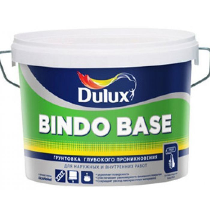 Грунт 'Dulux' Bindo Base в/д глубокого проникновения для наружних