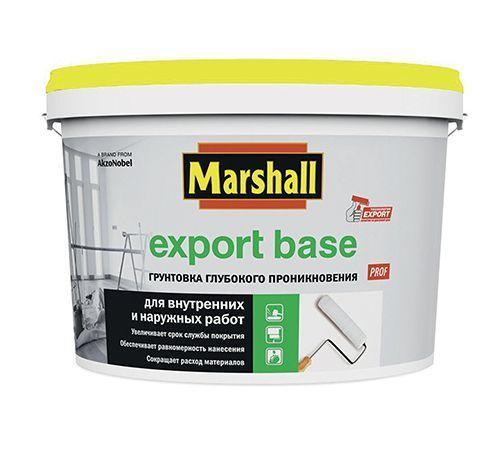 Грунт 'Marshall' Export Base в/д для наружних и внутренних работ 0,9л