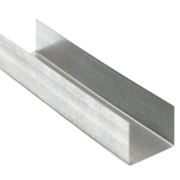 Профиль направляющий потолочный ПНП (UD) 28*27 - 0,4мм - 3м