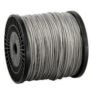 Трос сталь в ПВХ SWR M6 PVC M8 DIN 3055 (100м)