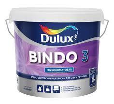Краска 'Dulux' Bindo 3 в/д для стен и потолков глубокоматовая  база 10л
