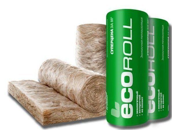 Минеральная изоляция ECOROLL плита 50*1220*8200 мм