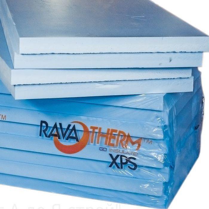 Пенопласт экструдированный 'Ravaterm' XPS STANDART 1200*600*20 мм