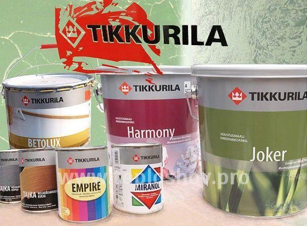 Краска для интерьеров ТИККУРИЛА HARMONY A 9л